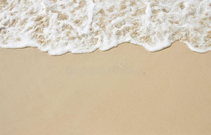 Glatter Sand lizenzfreies stockbild