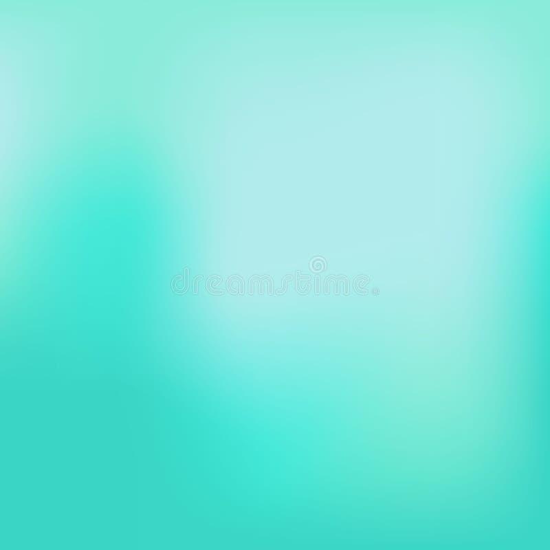 Glatter und undeutlicher bunter Steigungsmaschenhintergrund Vektorillustration mit hellen Regenbogenfarben Einfaches editable Wei lizenzfreie abbildung