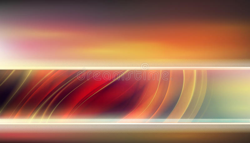 Glatter warmer Farbenhintergrund vektor abbildung