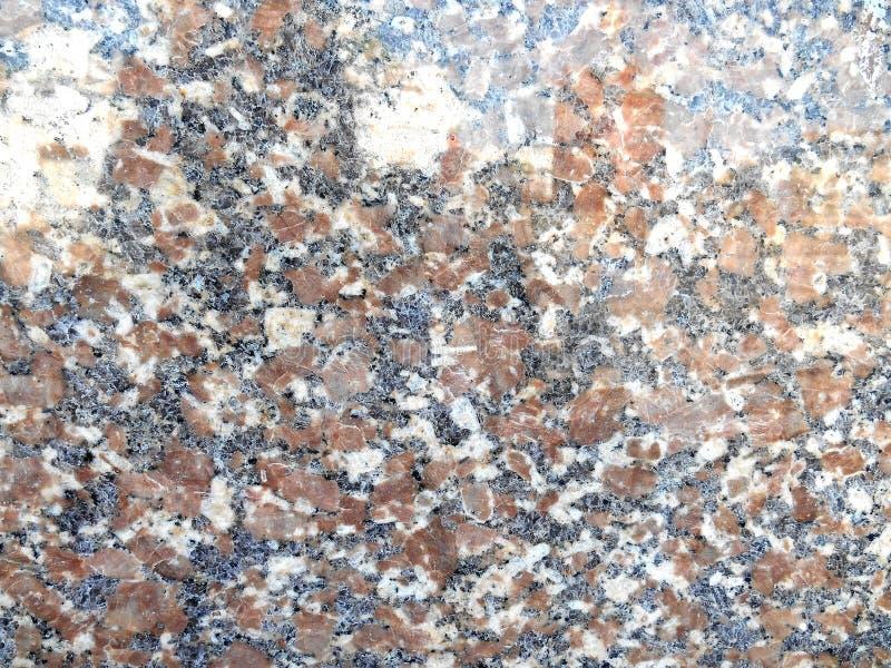 Glattes braunes Granitsteinsubstrat des Granits vektor abbildung
