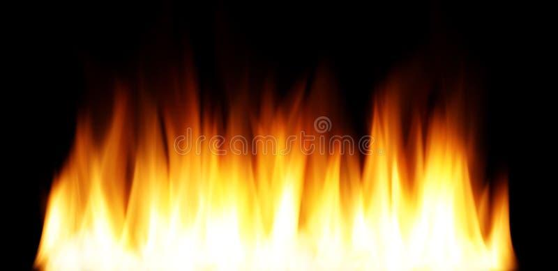 Glattes Feuer lizenzfreie stockbilder