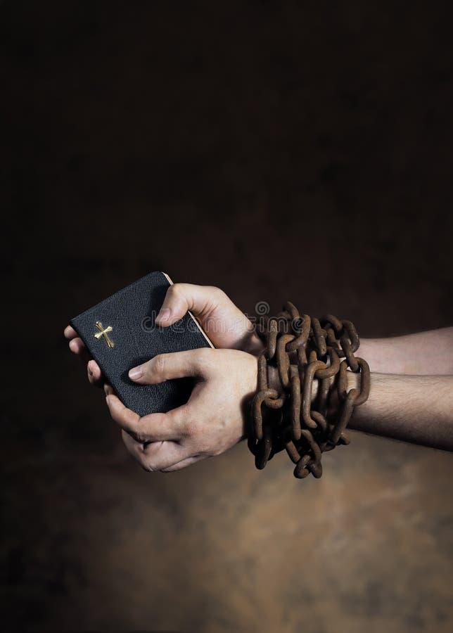 Glaube oder Freiheit lizenzfreies stockfoto