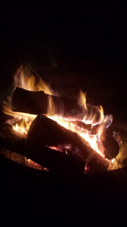 Glauben der Flammen lizenzfreies stockbild