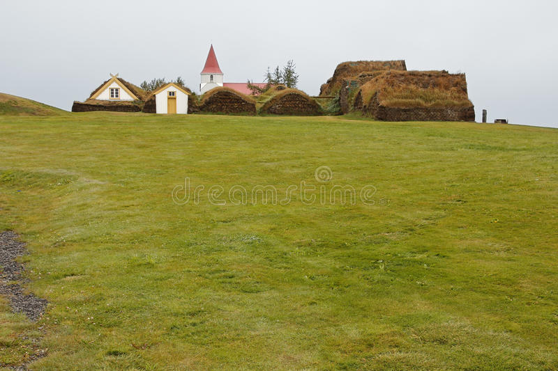 Download Glaumbaer historic village stock image. Image of farmstead - 21552913