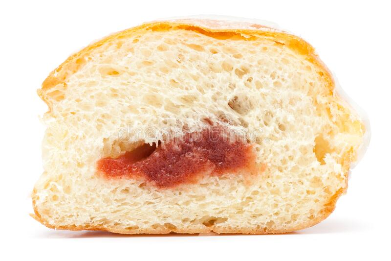 Glazed Donut fotografia stock libera da diritti