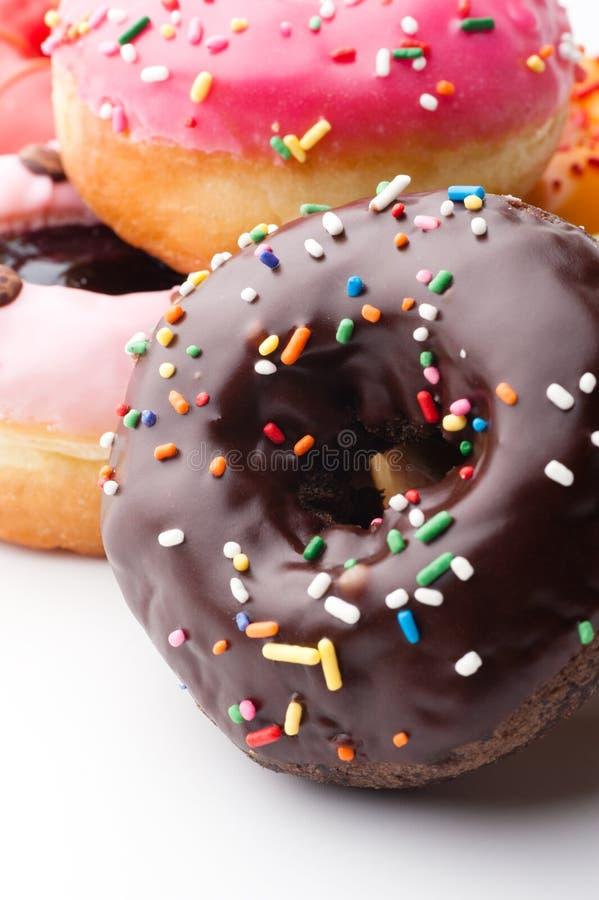 Glazed donuts royalty free stock image