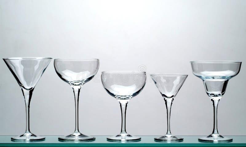 Glazen stock fotografie