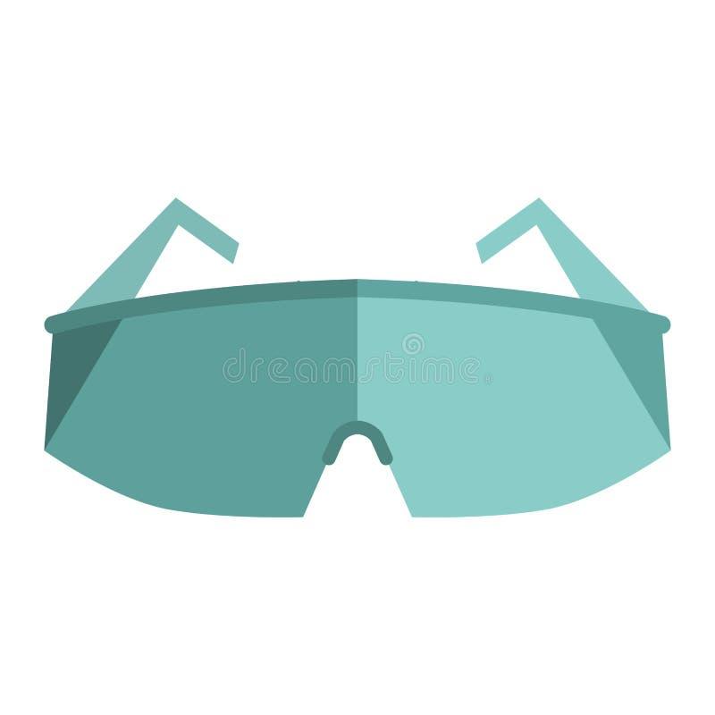 Glazen, de illustratie van de de ogenbescherming stock illustratie