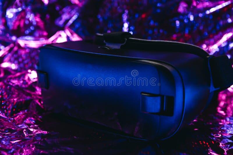 Glazen voor virtuele realiteit VR-concept stock foto's