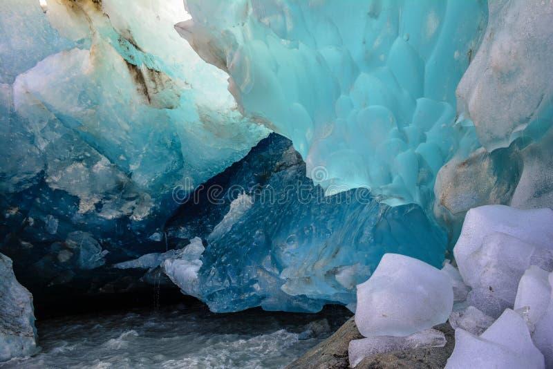 Glazial- Eis lizenzfreies stockbild