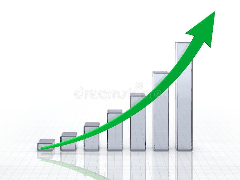 Glazige grafiek royalty-vrije illustratie