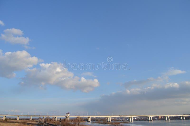 Glazkovskybrug stock afbeeldingen