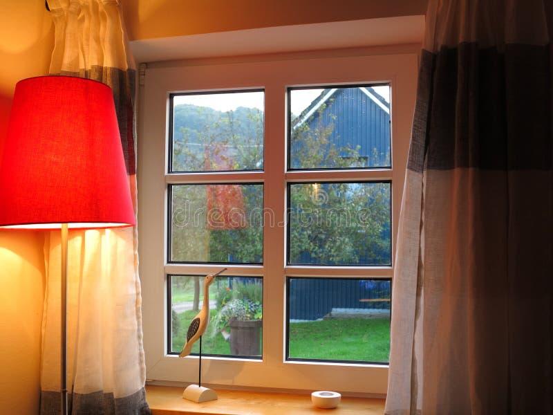 Glazurujący okno zdjęcia stock