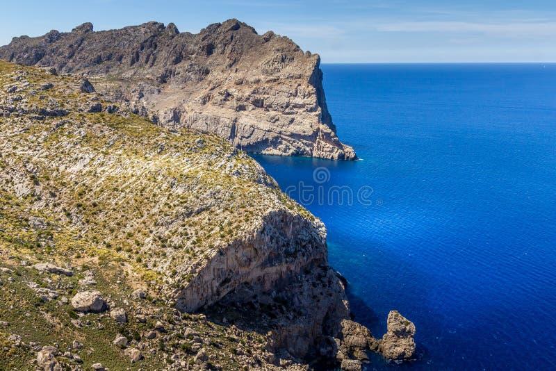 GLB DE Formentor, Mallorca, Spanje stock fotografie