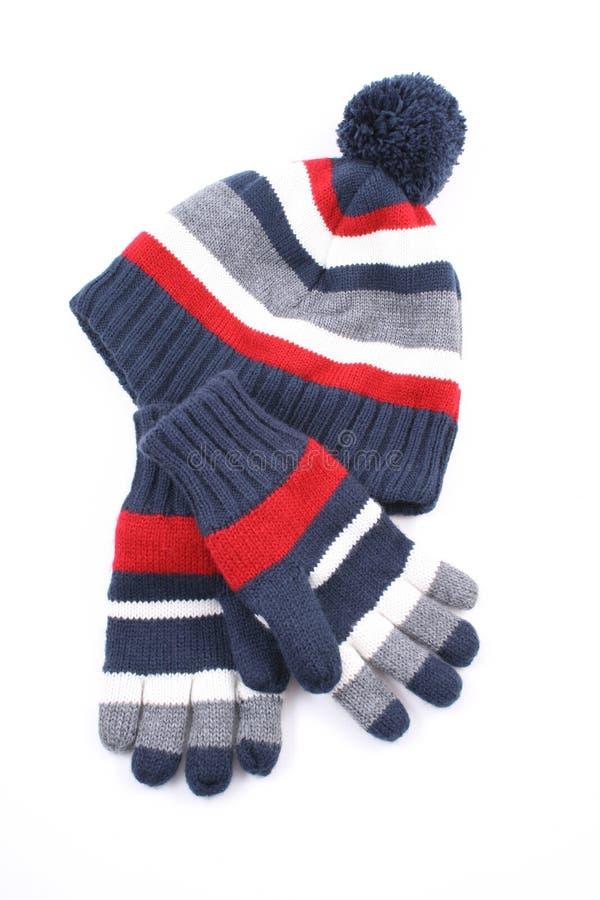 GLB en handschoenen stock afbeelding