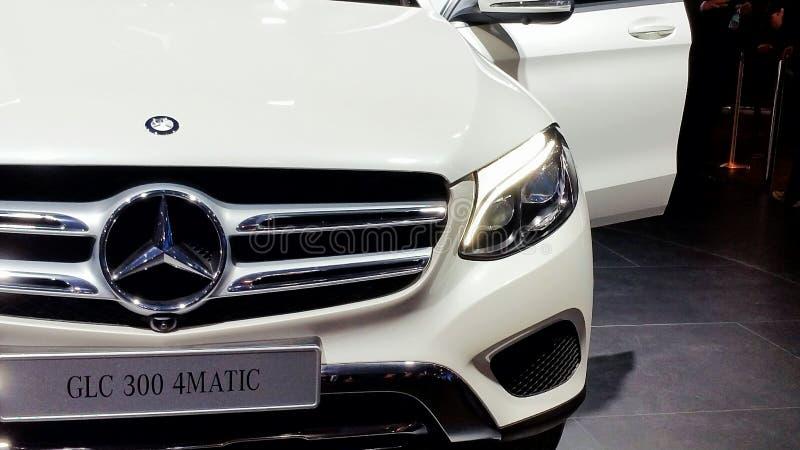 GLC 300 van Mercedes royalty-vrije stock afbeelding