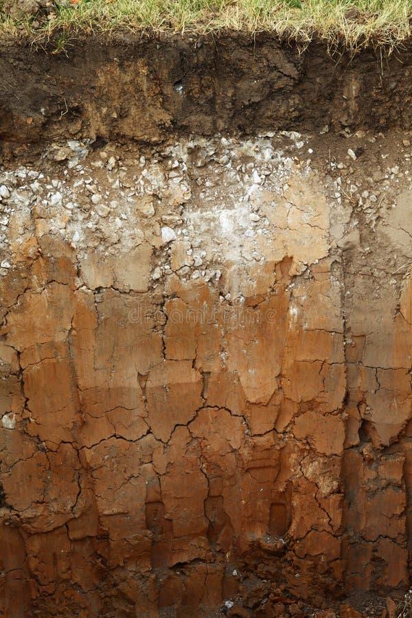 Glebowe metro warstwy zdjęcie stock