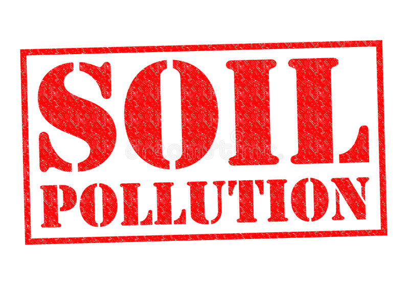 Glebowy zanieczyszczenie royalty ilustracja