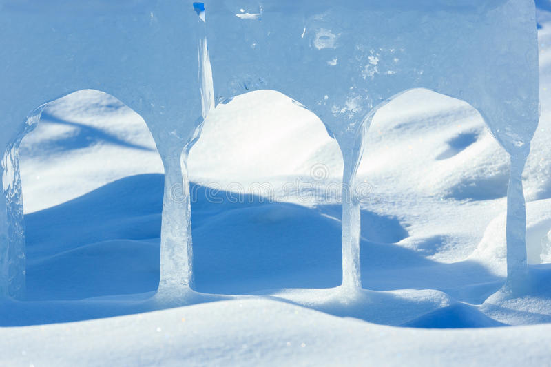 Gleczeru blok lodowy zbliżenie obraz royalty free