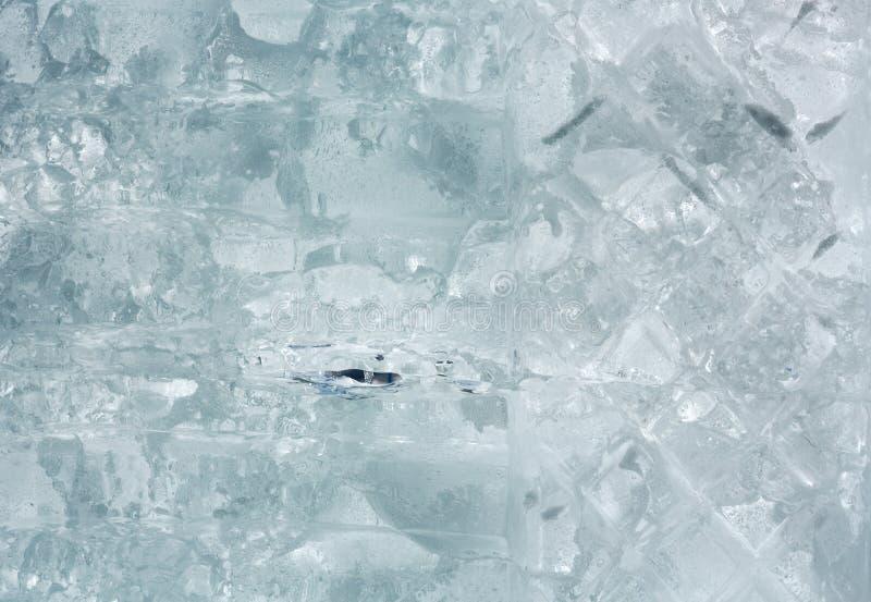 Gleczeru blok lodowy zbliżenie zdjęcia royalty free