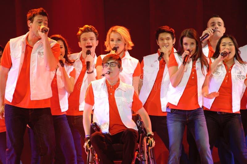 Glee Tour stock image