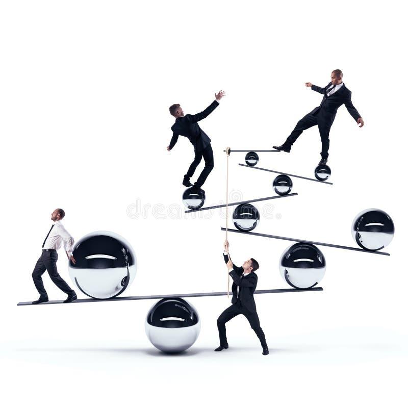 Gleichgewichtsorgan stockbild