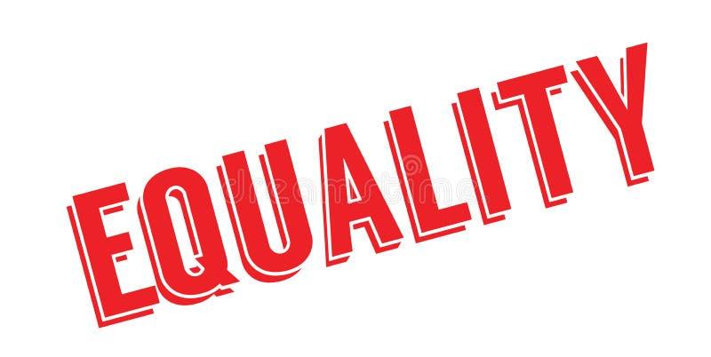 Gleichheitsstempel lizenzfreie abbildung