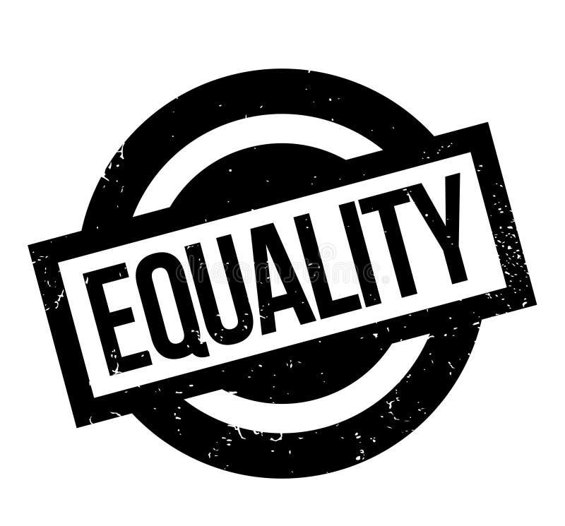 Gleichheitsstempel stock abbildung
