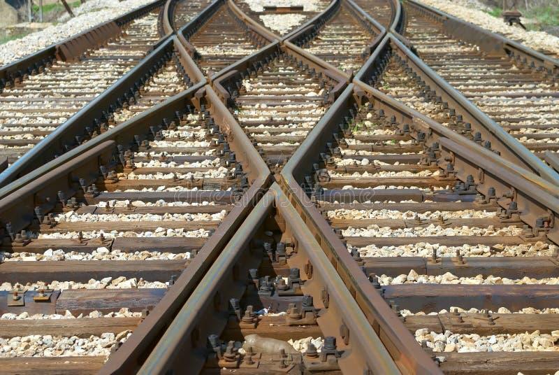 Gleis lizenzfreies stockfoto
