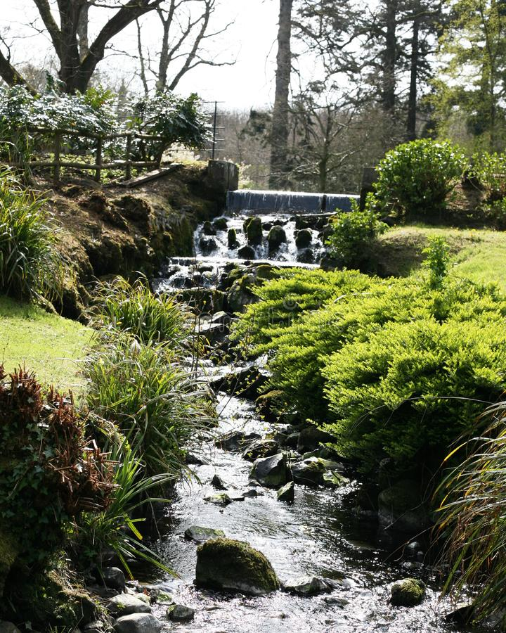 Glen σε Hillsborough Castle και κήποι Ιστορικά βασιλικά παλάτια στοκ φωτογραφία με δικαίωμα ελεύθερης χρήσης