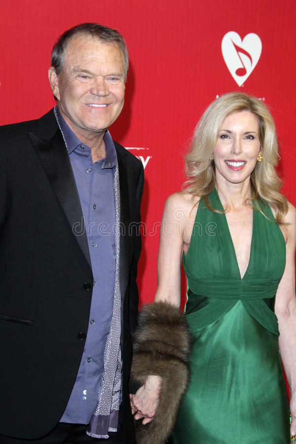 Glen Campbell. LOS ANGELES - FEB 10: Glen Campbell arrives at the 2012 MusiCares Gala honoring Paul McCartney at LA Convention Center on February 10, 2012 in Los stock photo