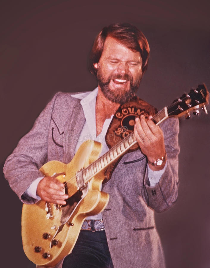 Glen Campbell royalty free stock photo