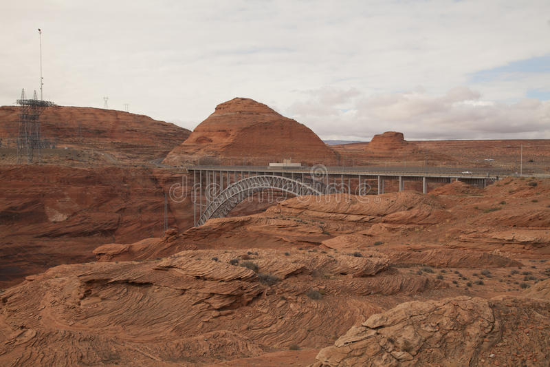 Glen Canyon fotografia stock libera da diritti