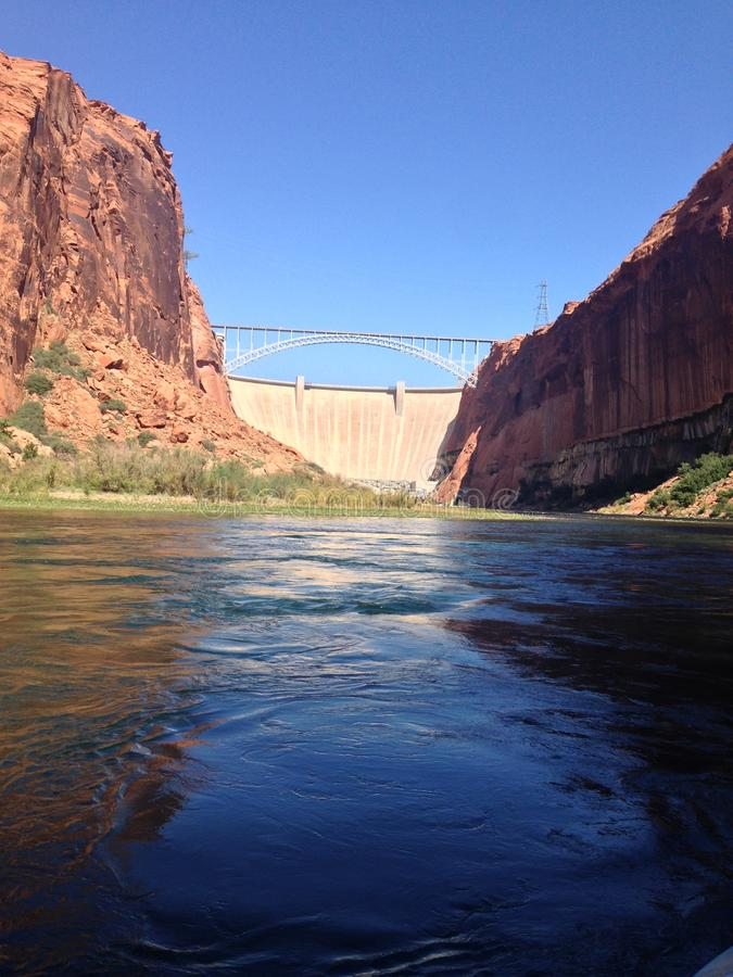 Glen Canyon photo libre de droits