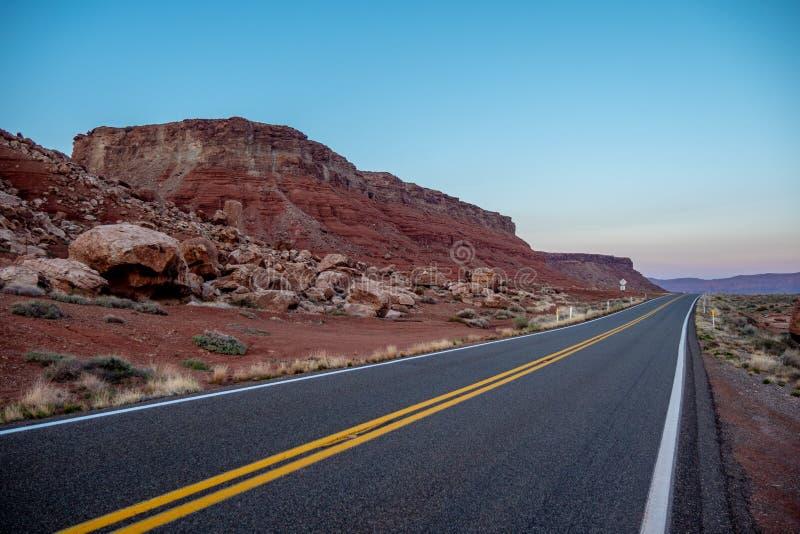 Glen Canyon in Arizona - mooi landschap royalty-vrije stock afbeeldingen