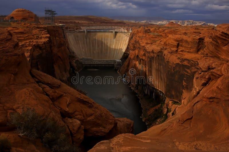 Glen Canyon Dam stock photos