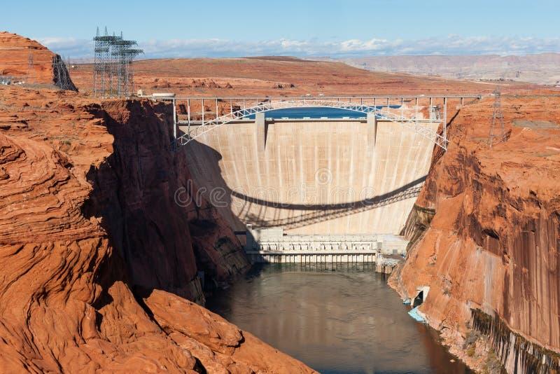 Glen Canyon Dam fotografia de stock