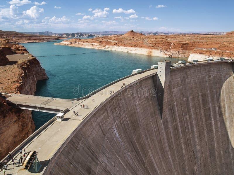 Glen Canyon Dam fotografie stock