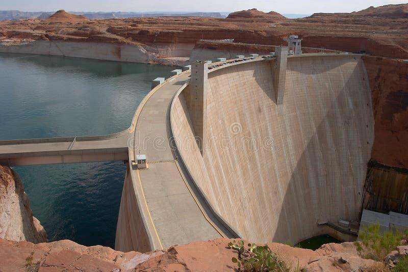 Glen Canyon Dam royalty free stock images