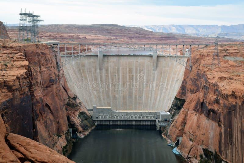 Glen Canyon Dam lizenzfreies stockbild