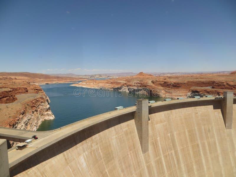 Glen Canyon Dam imagens de stock