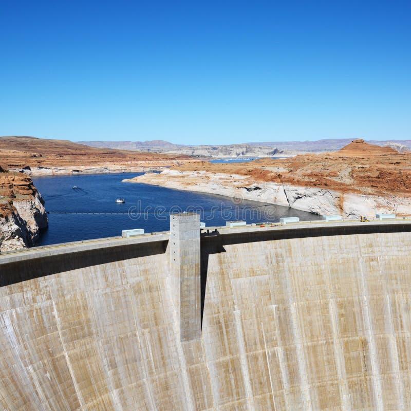 Free Glen Canyon Dam, Arizona. Royalty Free Stock Image - 2046326
