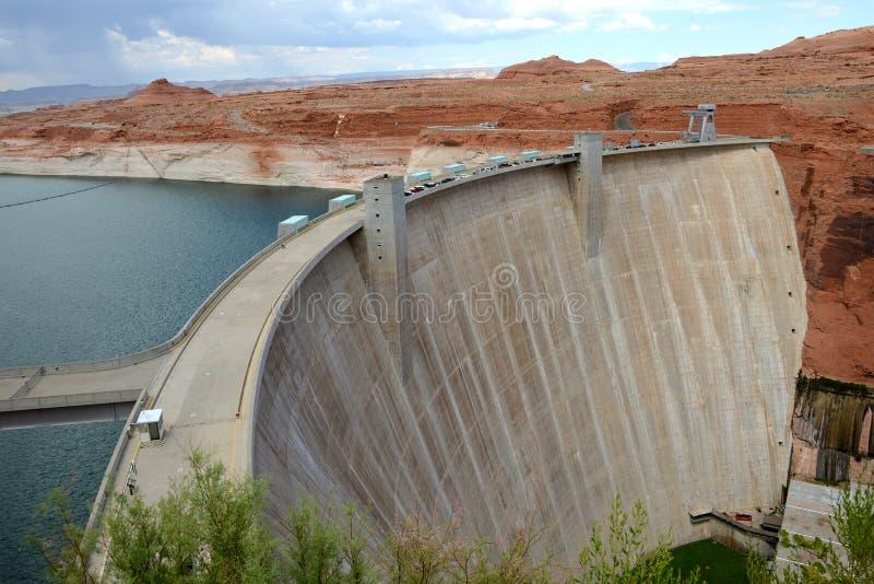 Glen Canyon Dam stock fotografie