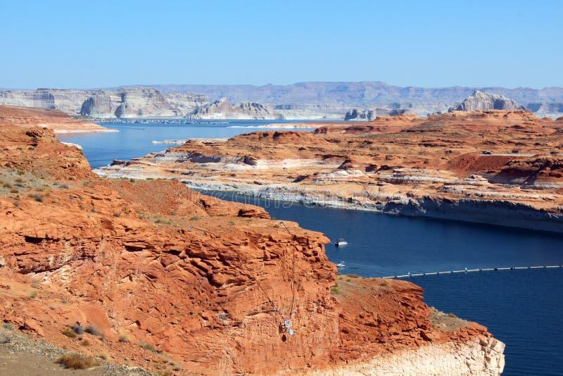 Glen Canyon Dam/sjö Powell arkivfoton