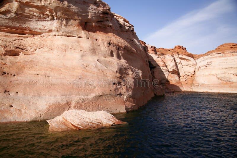 Glen Canyon, lac Powell, Arizona, Etats-Unis photos libres de droits