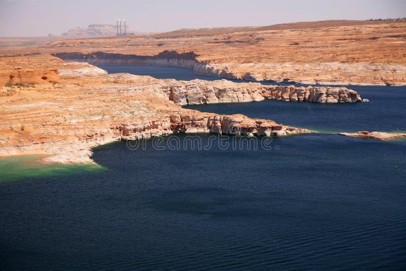 Glen Canyon, lac Powell, Arizona, Etats-Unis images libres de droits
