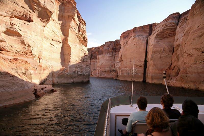 Glen Canyon, lac Powell, Arizona, Etats-Unis image stock