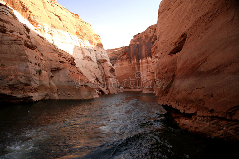 Glen Canyon, Lake Powell stock images