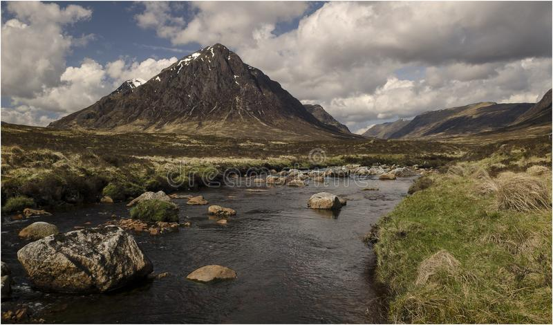 Glen Coe - Σκωτία στοκ εικόνα