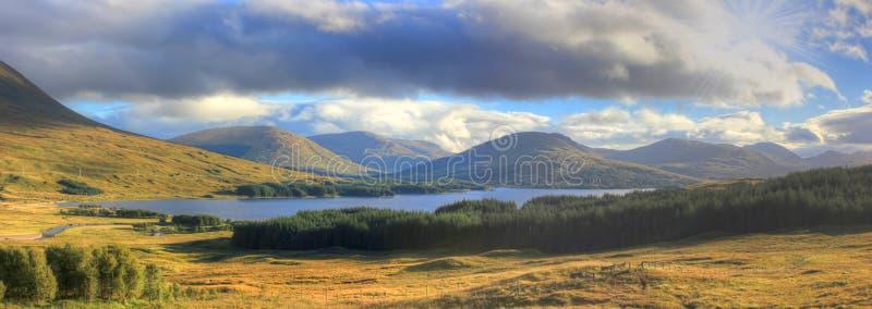 Glen Coe, montaña, Escocia, Reino Unido fotos de archivo libres de regalías